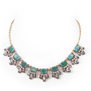 Jewel & Diamond Collar Stmt NL