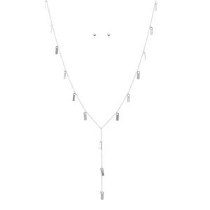 Square Discs Necklace