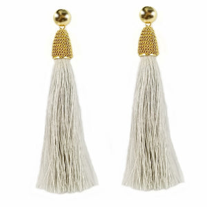 Egyptian Fringe Tassel Earrings