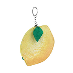 Lemon Keychain/coin purse/handbag charm