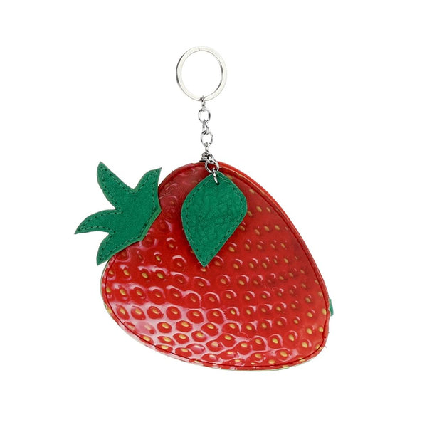 Strawberry Keychain/coin purse/handbag charm