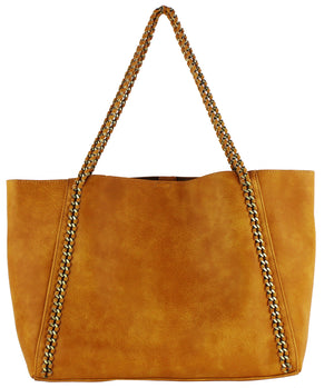 STRAIGHT CHAIN TOTE