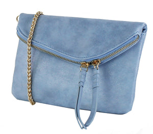 MINI ENVELOPE CROSSBODY WITH ZIPPER