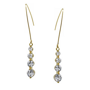 Grading Diamonds Drop Earrings