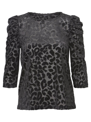 Cosa Animal Print Top