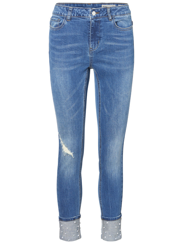 Seven Pearl Ankle Jean