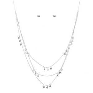 Layered Drops Necklace