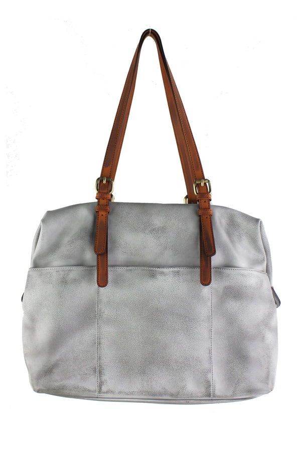 Distressed Carryall Tote