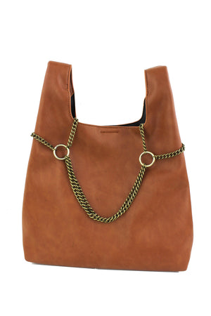 Mini Tote with Chain