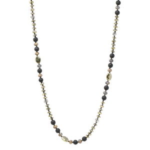 Mixed Beads Layering Necklace