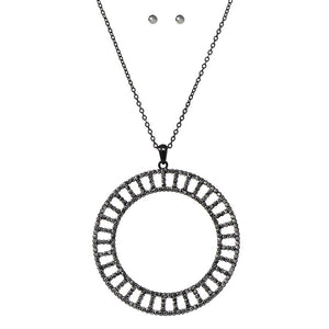 Diamond Infinity Wheel Pendant NL