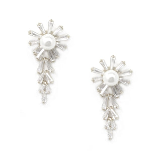 Dripping Snow Flake Earrings