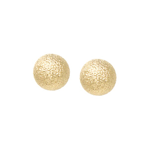 Metalic Drop Stud Earrings