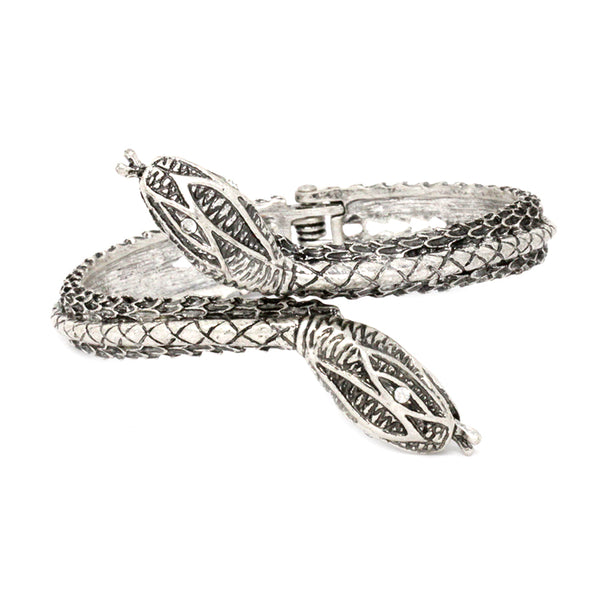 Double Headed Snake Bracelet