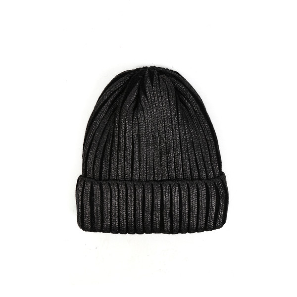 e560c1e4453 Metalic Ribbed Knit Cap
