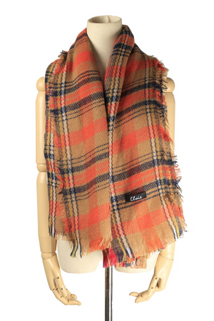 Scottish Plaid Scarf