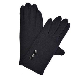 3 Button Fitted Gloves