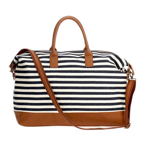 Stripe Overnight Duffle