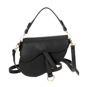 Saddle Bag with Crossbody