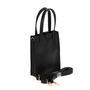 Girl Face Top Handle with Strap