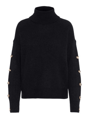 Acel Button Rollneck