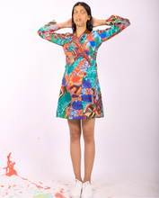 Load image into Gallery viewer, Upcycled All Print Patchwork Dress