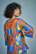 Load image into Gallery viewer, Brighton-Portobello Double Sided Wrap Top