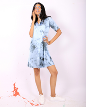 Load image into Gallery viewer, Tie Dyed Curve Dress