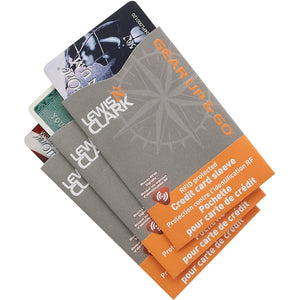 Lewis N. Clark - RFID Credit Card Shield - 3 Pack