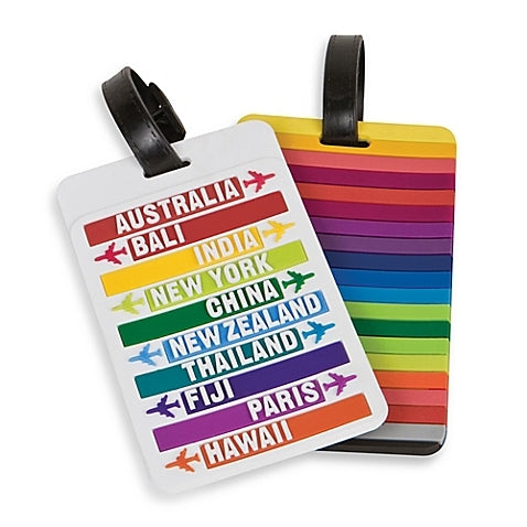 Travelon - Hot Spots Luggage Tag