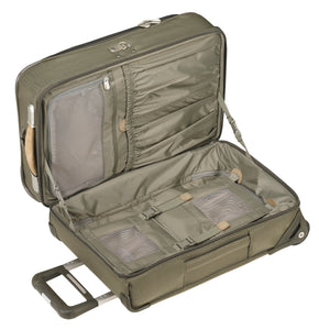 Briggs and Riley - Baseline - Domestic Carry-On Upright Garment Bag Olive