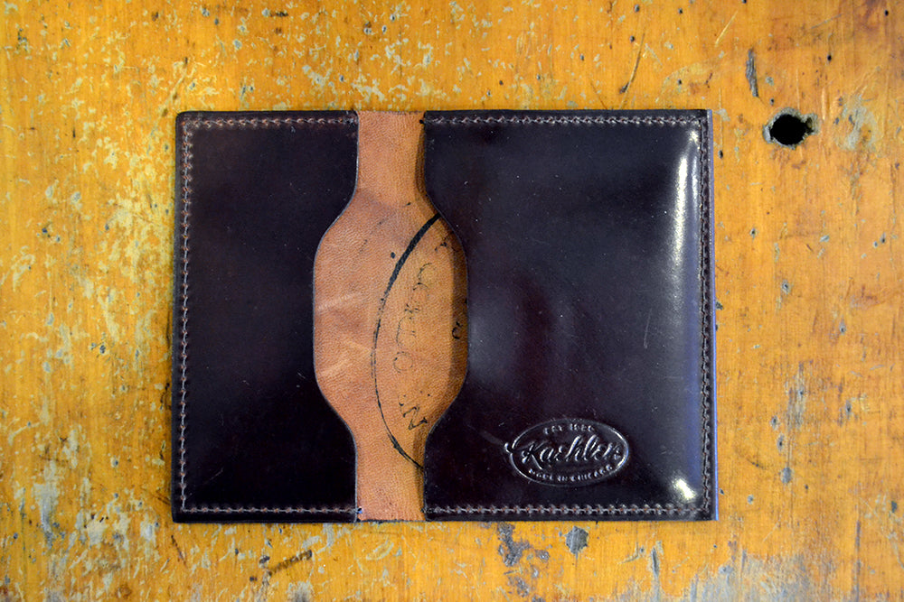 Kaehler 1920 - The Card & Cash in Shell Cordovan