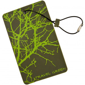 Lewis N. Clark - Travel Green Luggage Tag