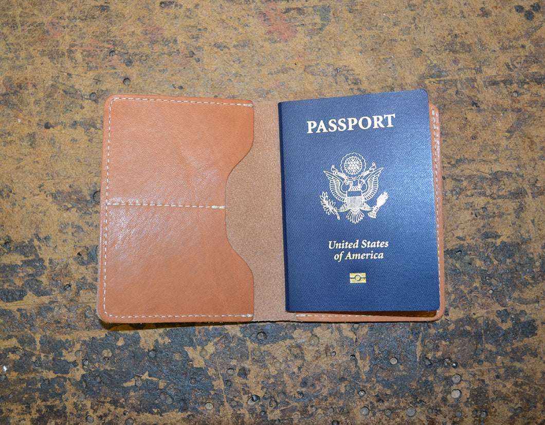 Kaehler 1920 - The Travel Wallet w-Passport