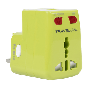 Travelon - Worldwide Adapter and USB Charger