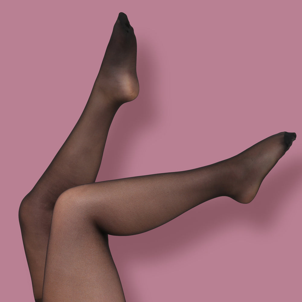 Black Sheer Tights - 30 Denier