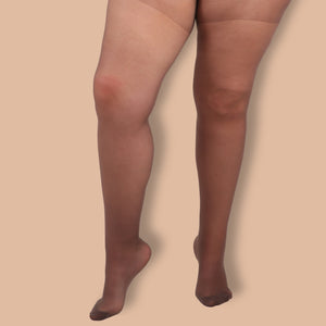 Brown Sheer Tights - 30 Denier