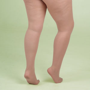 Nude Sheer Tights - 30 Denier
