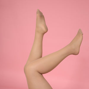 Load image into Gallery viewer, Nude Sheer Tights - 30 Denier
