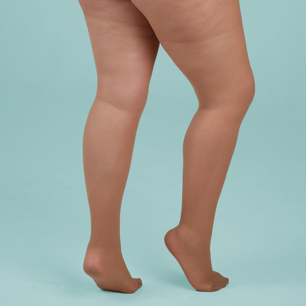 Load image into Gallery viewer, Tan Sheer Tights - 30 Denier