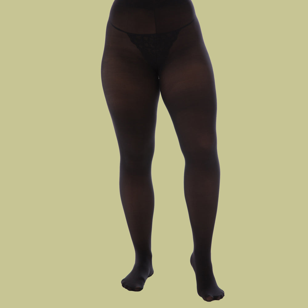 Load image into Gallery viewer, Recycled Black Tights - 50 Denier