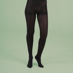 Black Opaque Tights - 80 Denier