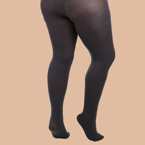 Load image into Gallery viewer, Slate Grey Opaque Tights - 80 Denier