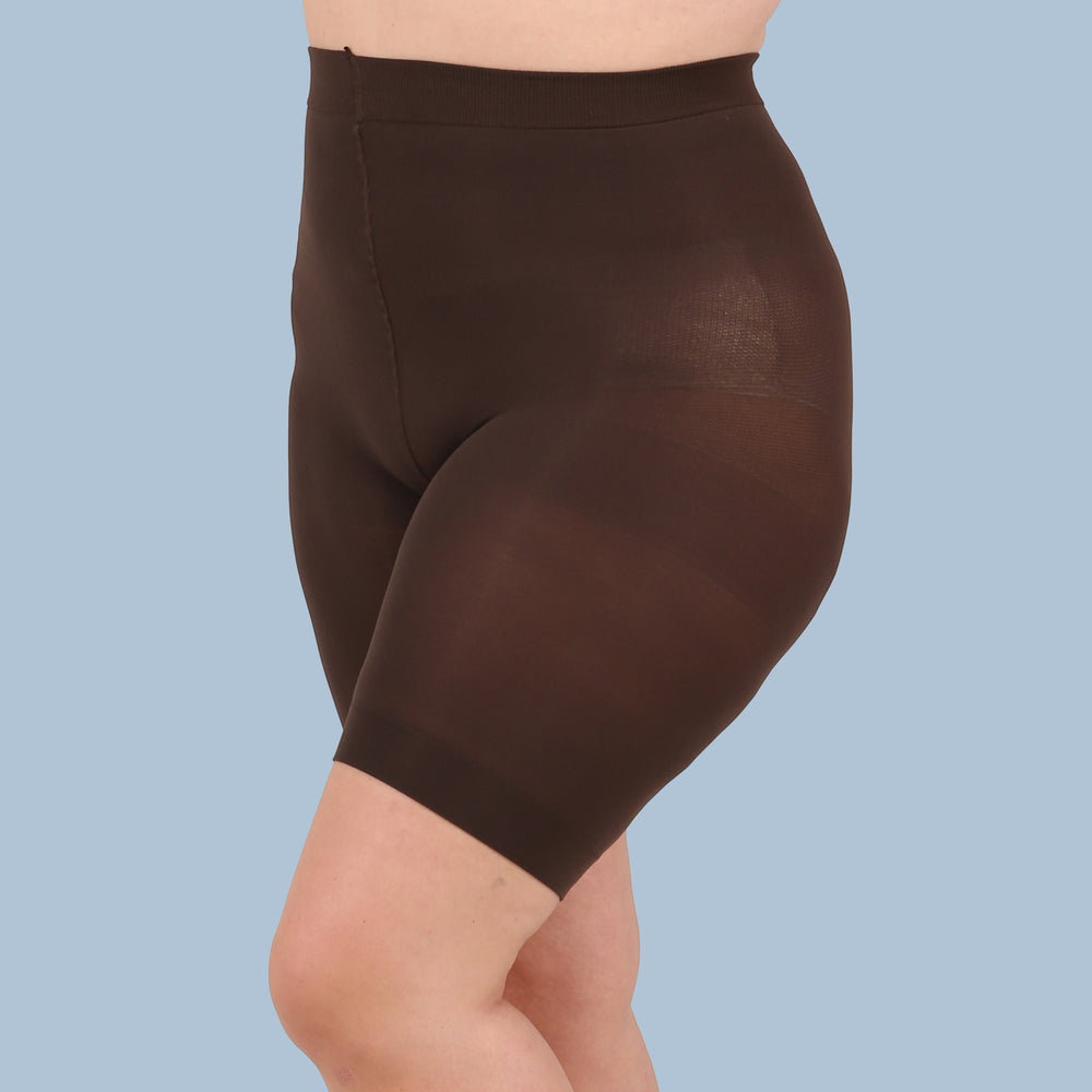 Brown Anti Chafing Shorts