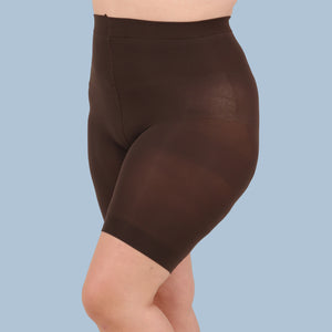 Load image into Gallery viewer, Brown Anti Chafing Shorts