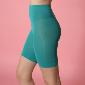 Turquoise Anti Chafing Shorts