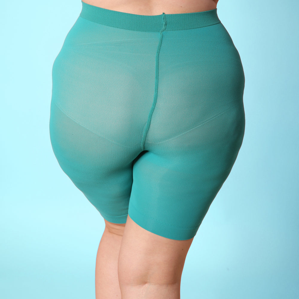 Load image into Gallery viewer, Turquoise Anti Chafing Shorts