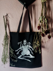 Miss Muffet Tote Bag