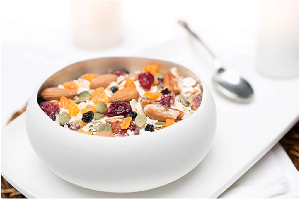 deluxe fruit, nuts & seeds natural muesli