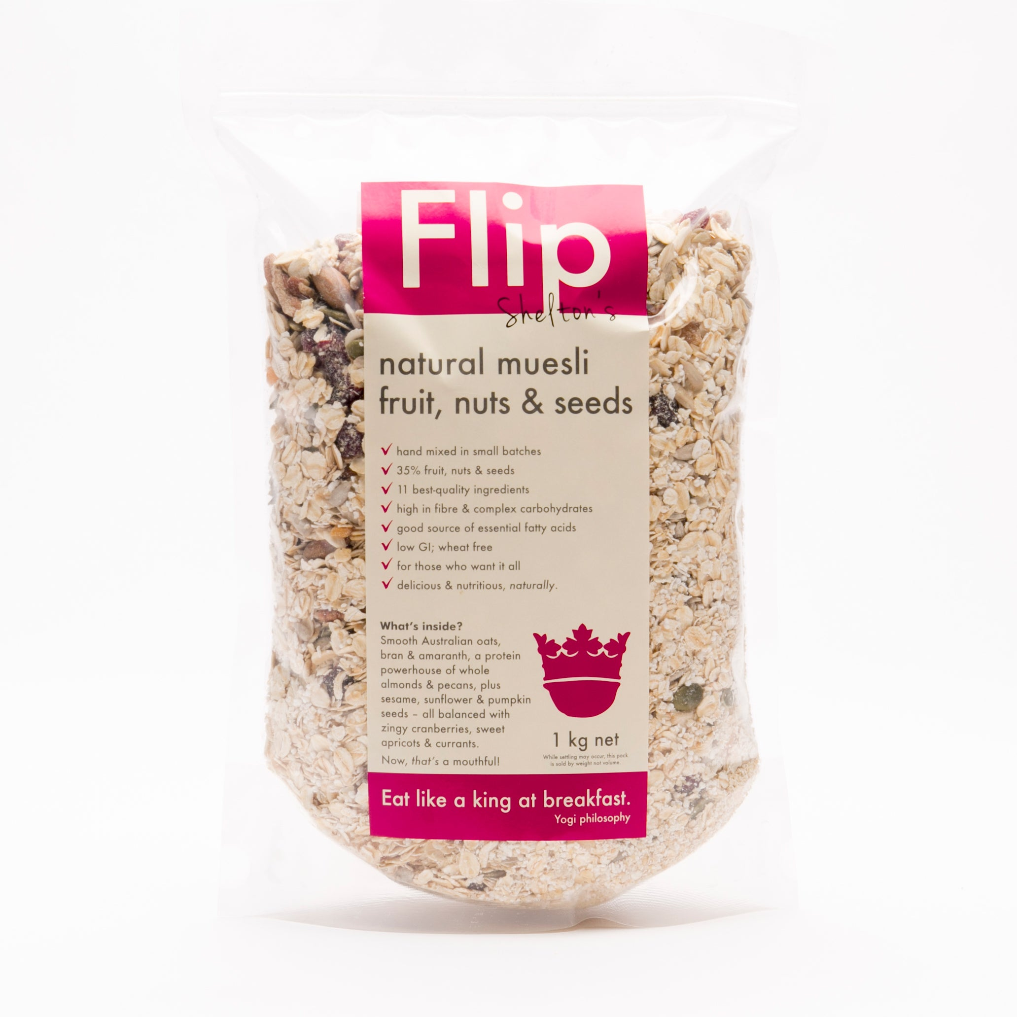 fruit, nuts & seeds natural muesli